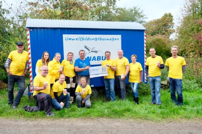 global vounteersday 2019   Foto: NABU Bremen